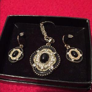Avon Jewelry - Necklace & earrings set